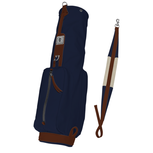 Leather MacKenzie Original Walker golf bag